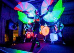 Шоу световых барабанов